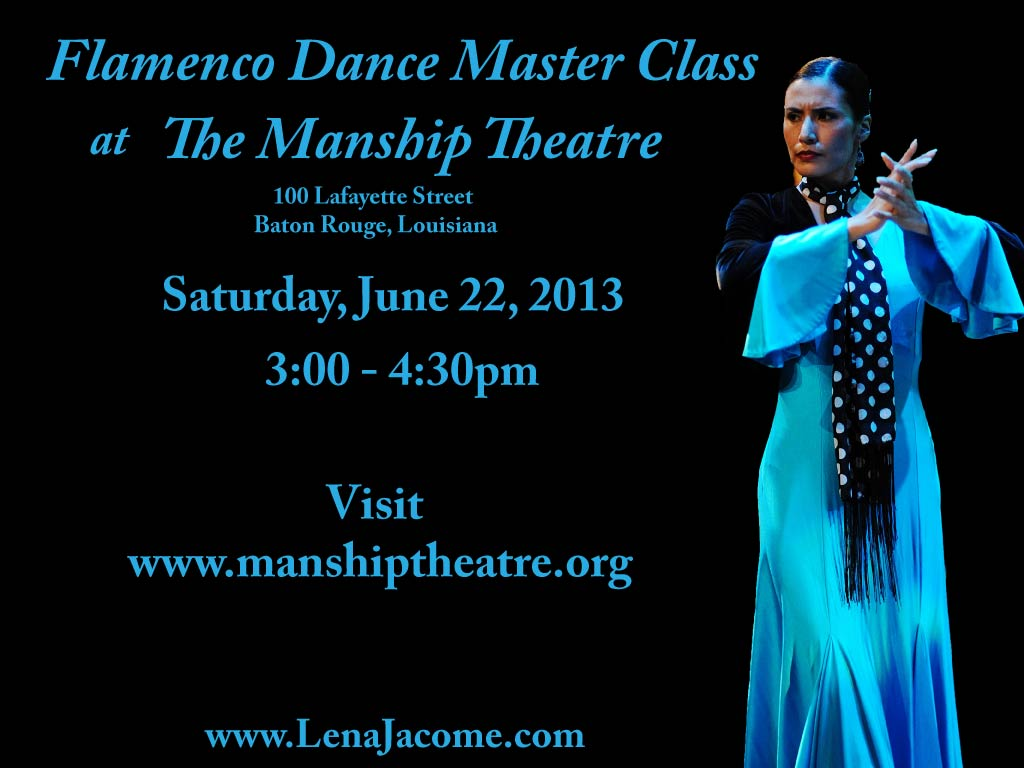 Manship flamenco workshop_June 2013