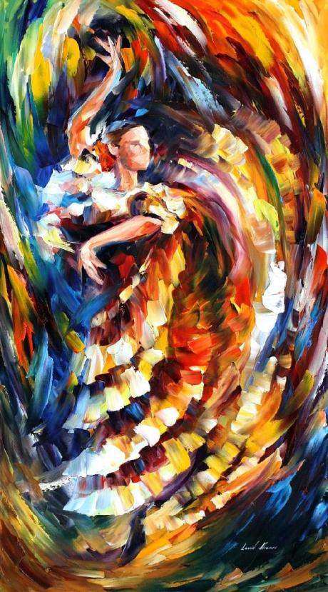 passionate__flamenco___leonid_afrmov_by_leonidafremov-d53by5c